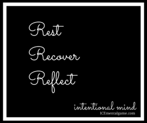 Rest, Recover, Reflect