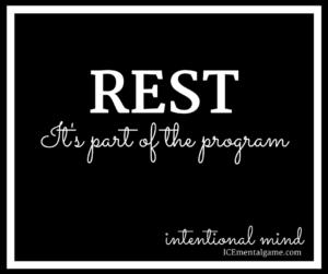 REST It's part of the program